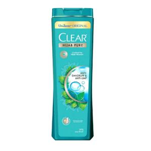 Clear hijab shampoo