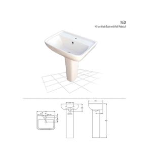 Neo 45 cm Wash Basin
