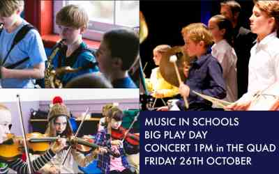 Music in Schools Big Play Day FREE CONCERT