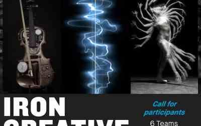 """IRON CREATIVE"" – WORLD FIRST"