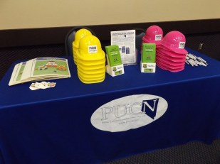 Public Utilities Commission of Nevada booth.