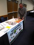 Excavators also had the opportunity to visit a few educational booths, including this one from the NRCGA.
