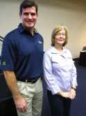 Cliff Meidl and Patrice Heyer from USA North 811.