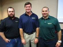 Cliff Meidl with USA North 811 representatives.