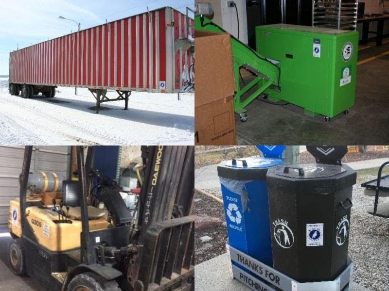 What could a recycling equipment grant do for you?