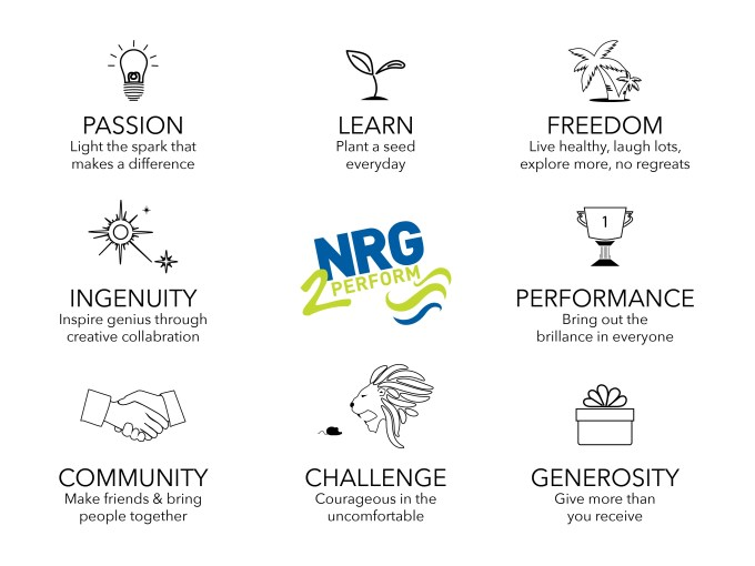 NRG2Perform DNA Values
