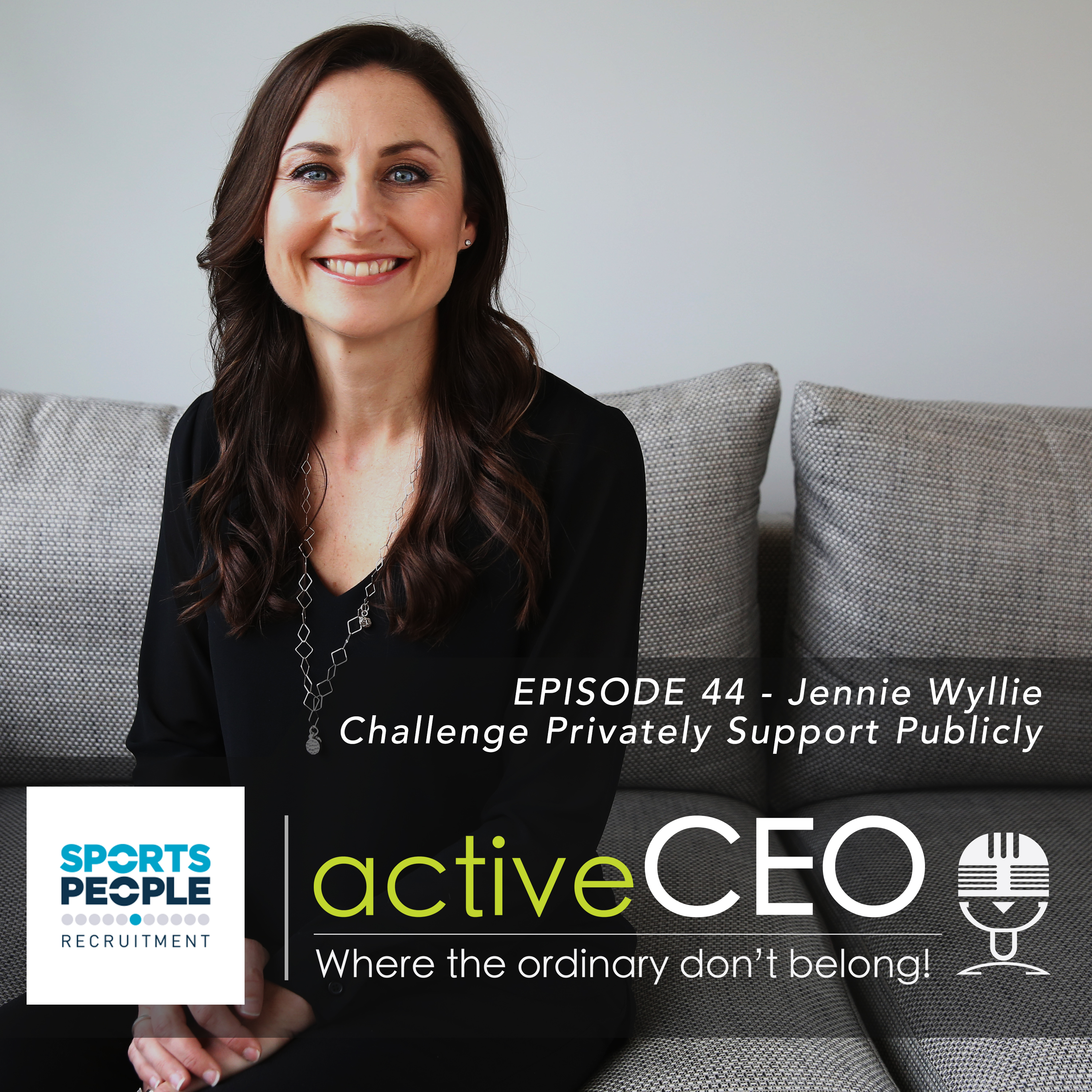 active CEO Podcast Jennie Wyllie (Netball New Zealand) – Challenge Privately Support Publicly