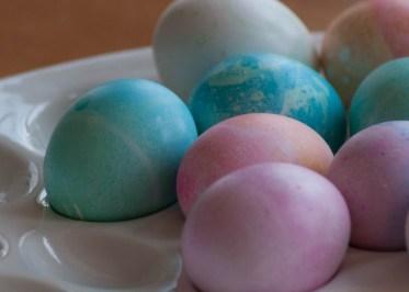 Blue Green Easter Egg