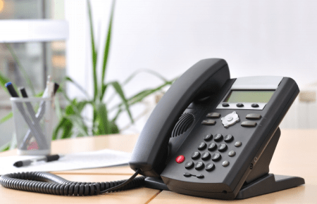 handheld telephone, desktop phone, corded phone