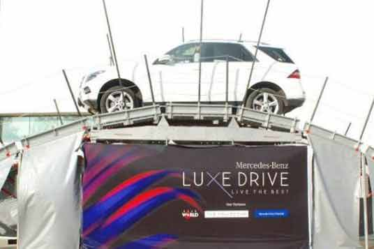 """Mercedes-Benz """"Luxe Drive"""" launched in Jaipur"""