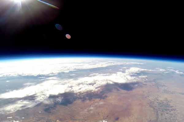 To the edge of space: NASA-funded balloon goes to the edge