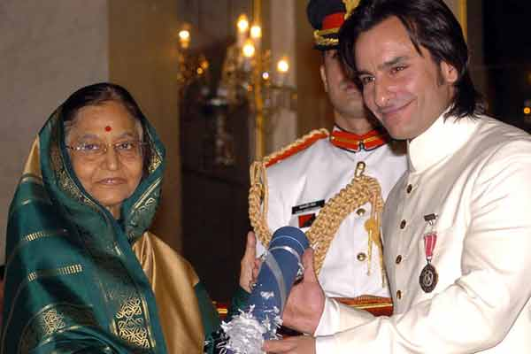 RTI activist demands Home Ministry to strip off Padma Shri from Saif