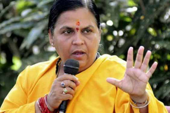 Uma Bharti calls a meeting of Chief Ministers of UP and MP to discuss Bansagar Issue