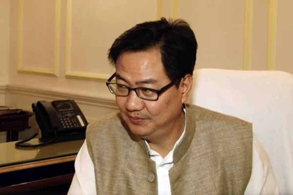 Kiren Rijiju Chairs Meeting of Eminent Freedom Fighters in Srinagar
