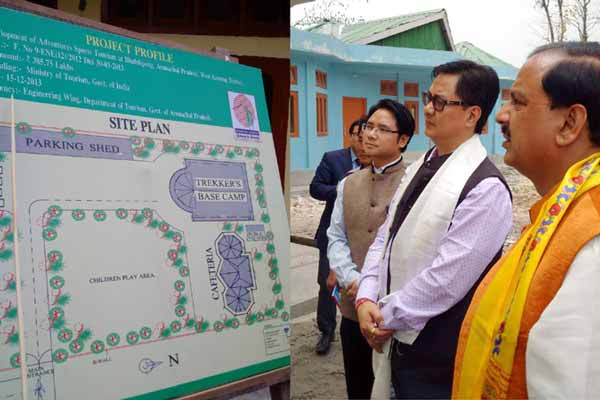 Dr Mahesh Sharma visits Arunachal Pradesh on the first day of his two day visit to the North-east