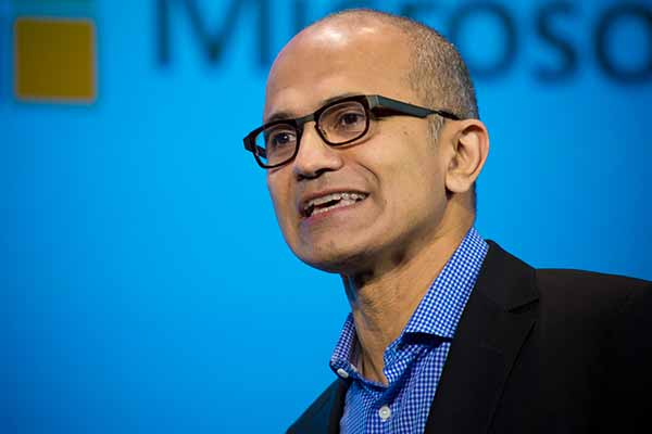Microsoft CEO Nadella bags $4.3 million as cash bonus