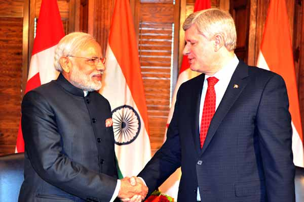 Modi in Ottawa: Canada will supply uranium to India for next five years