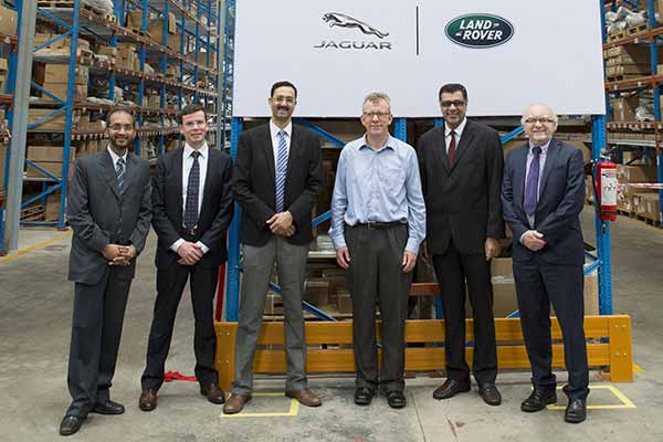 Jaguar Land Rover India opens a new parts distribution centre in India