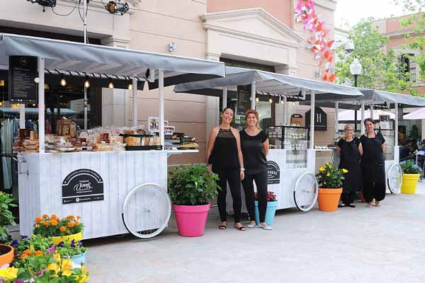 La Roca village combines the best of fashion and food this summer