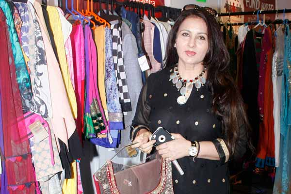 "Poonam Dhillon's NGO ""Maddad- A Helping Hand"" at Celebrating Vivaha Exhibition"