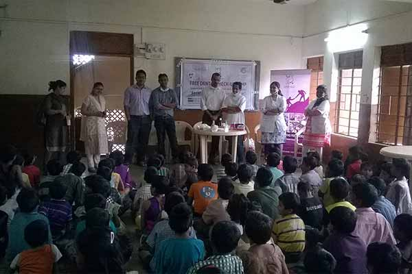 Excellence Dhyas Foundation organizes Free Dental Check-Up Camp to spread healthier smiles!