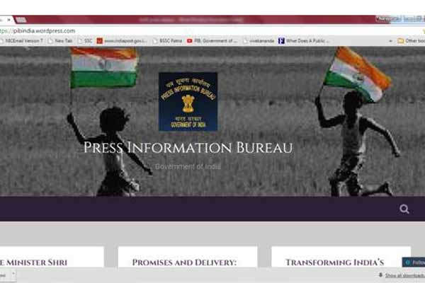 PIB launches Blog to mark 69th Independence Day