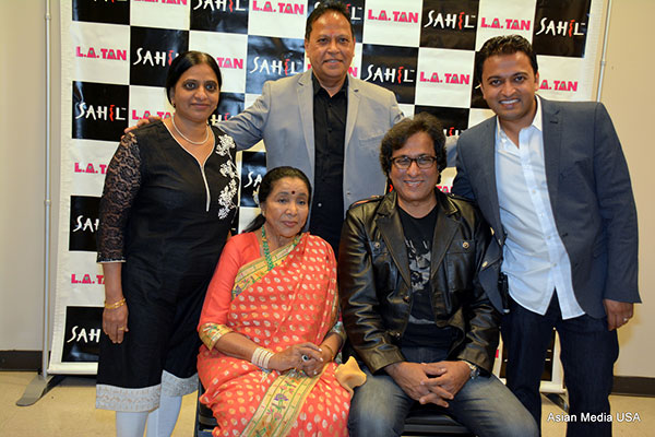Asha Bhonsle and Talat Aziz Set the Stage on Fire in Chicago