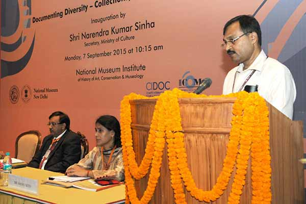 """CIDOC 2015 """"Documenting Diversity – Collections, Catalogues & Context"""" begins at the National Museum in New Delhi"""