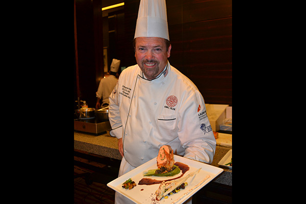 Kendall College A Culinary Arts Master Class led by Kendall Chef Christopher Koetke at JW Marriott, Pune
