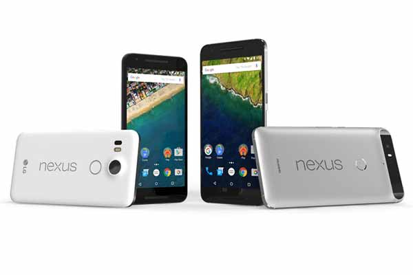 Android Marshmallow 6.0 based new Google Nexus phones launched in India