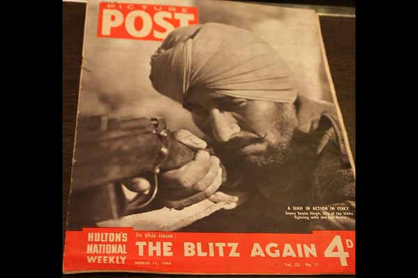 Rare London magazine cover featuring Sikh Sepoy to go under the hammer