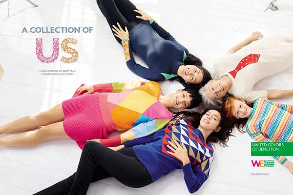 United Colors Of Benetton: A new collection, a new story, a new commitment for all the world's women