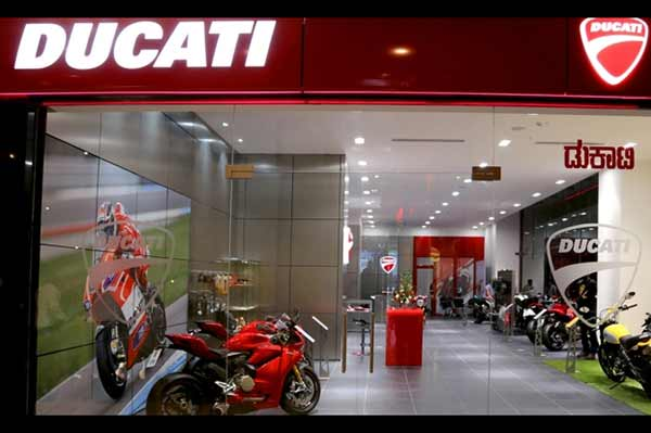 Ducati opens its first dealership in south India