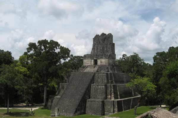 Maya civilisation had advanced political and economic systems