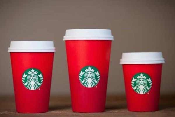 Starbucks hypes Christmas coffee after flap over red cups