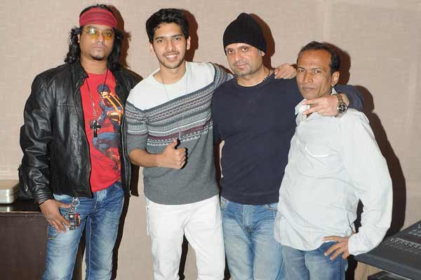Armaan Malik recorded a song for Chetna Entertainment film