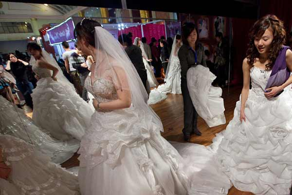 The 2016 China Wedding Expo boasts record exhibition space