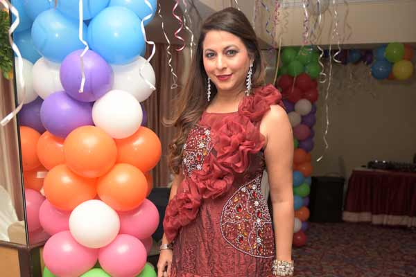 Gurpreet Kaur Chadha hosted a lavish birthday bash