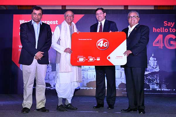 Vodafone India launches 4G services in Kolkata
