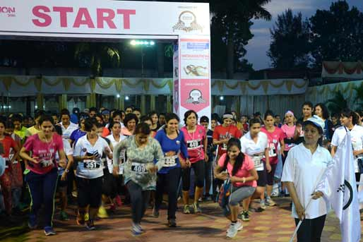 Bank of Maharashtra sponsored Mini Marathon arranged exclusively for Women by Pune Racing Organisation
