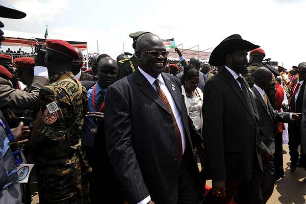In telephone calls, UN chief speaks with South Sudan's leaders about transitional government