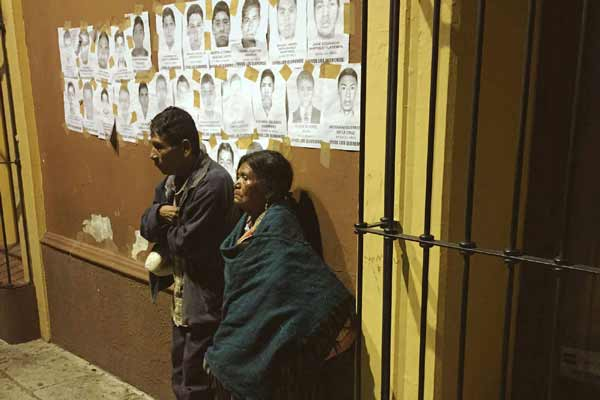 UN rights office urges Mexico to consider recommendations on case of missing students