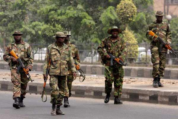 Boko Haram suicide attack foiled by Nigerian troops in northeast