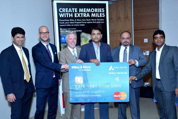 Axis Bank launches India's first cobranded multi-currency forex card with INR Wallet