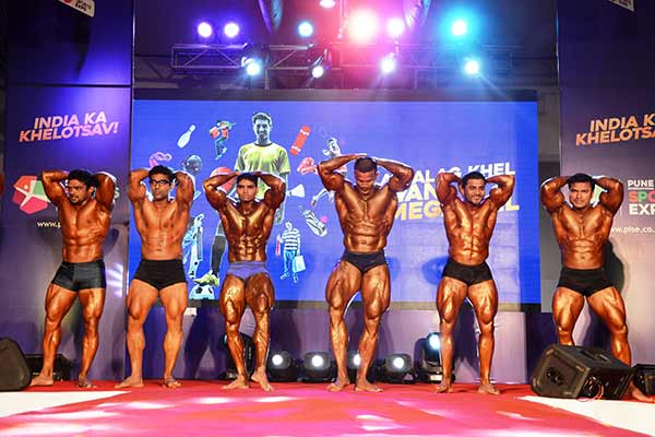 Body Power Show held at Pune International Sports Expo (PISE)