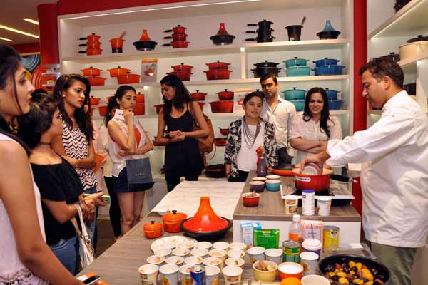 Le Creuset - The most loved French cookware brand hosted a live cookout with Chef Michael Swamy at their Flagship store in Infinity Mall, Mumbai