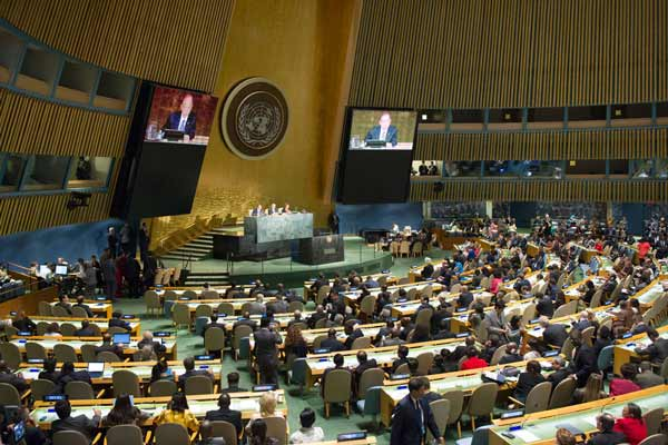 UN General Assembly adopts political declaration to fast-track progress on ending AIDS