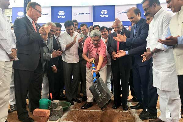 Boeing, TATA joint venture establishes aerospace facility in Hyderabad