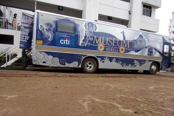 The Orbis School hosts 'Museum on Wheels' for students across the City