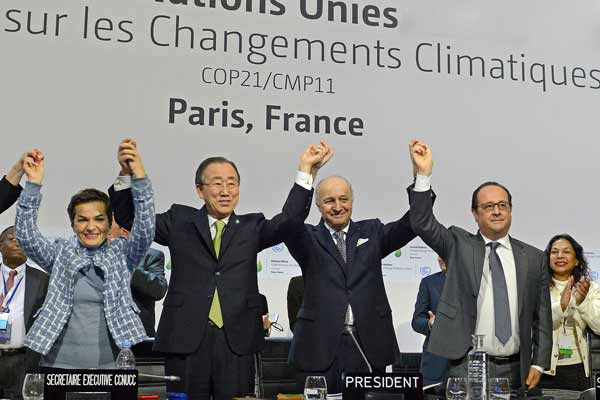 UN chief invites leaders to fast-track ratification of Paris climate deal